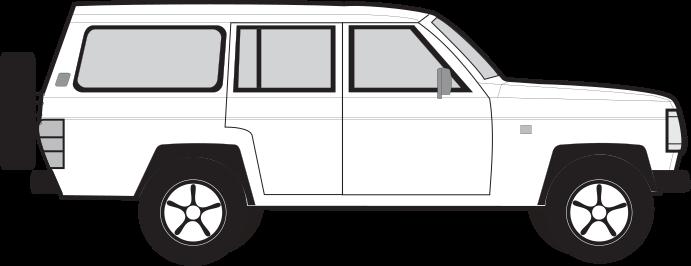 Nissan Patrol 5 porte