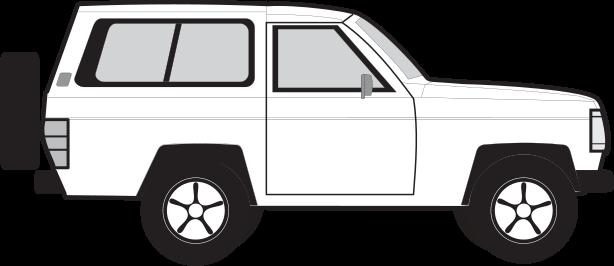 Nissan Patrol 3 puertas