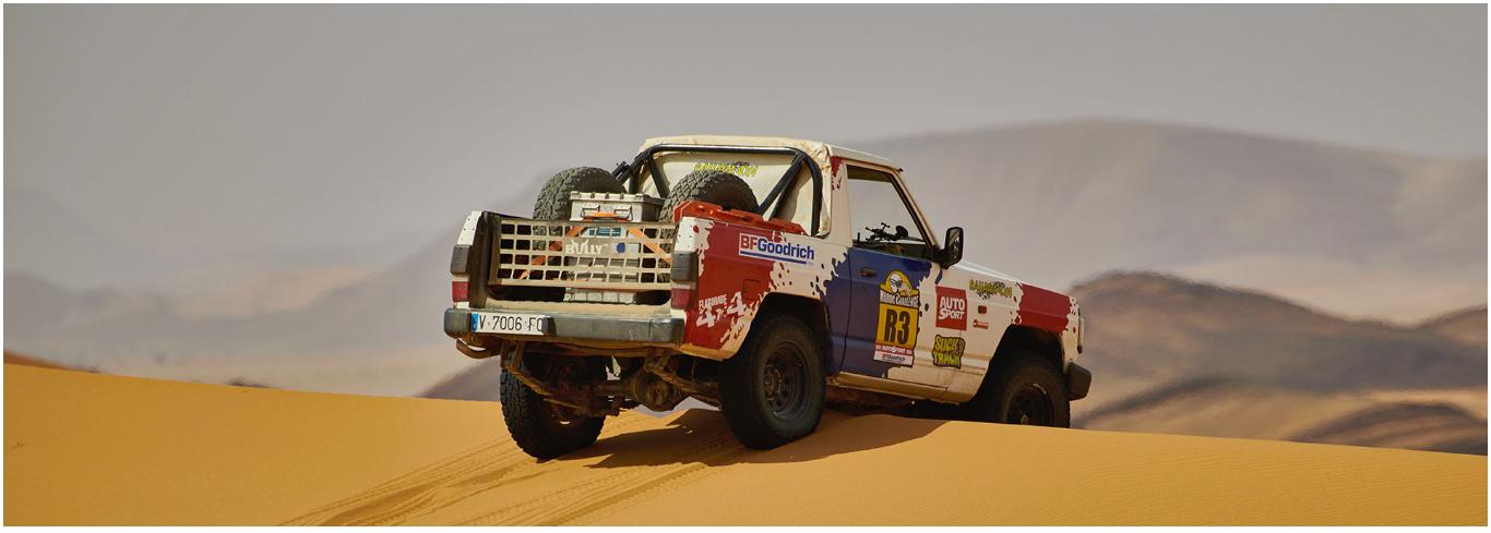 Nissan Patrol Premium Pack de la Maroc Challenge
